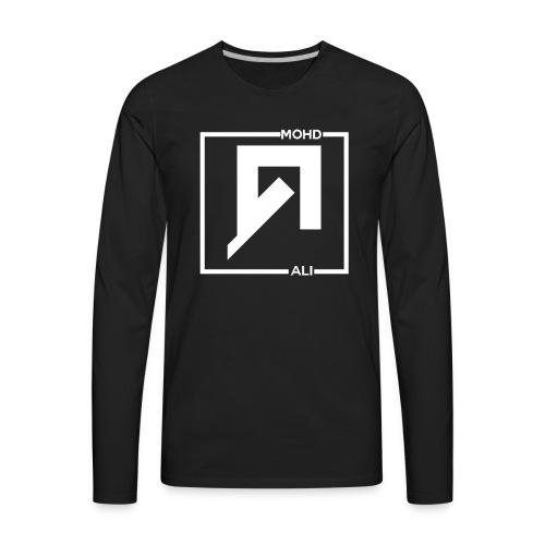 Ali Mohd Logo T-Shirt - Men's Premium Long Sleeve T-Shirt