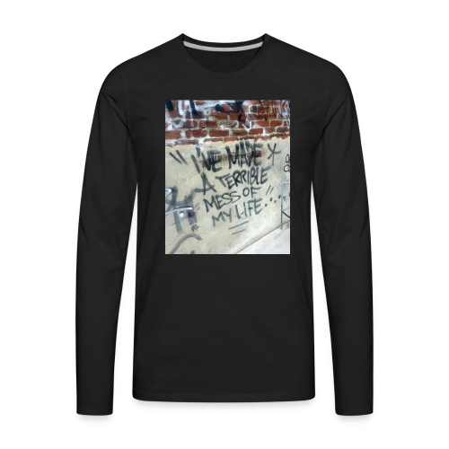 SMALL MESS - Men's Premium Long Sleeve T-Shirt