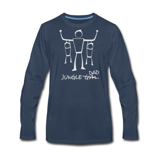 Jungle Dad - Men's Premium Long Sleeve T-Shirt