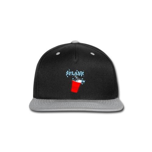 Splash Blue - Snap-back Baseball Cap