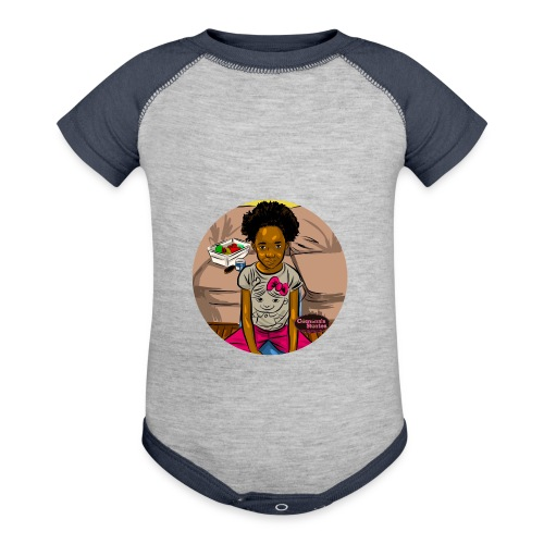 'FRO OUT RUFFLE TEE SHIRT - Baby Contrast One Piece