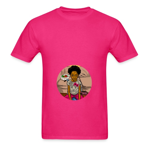 'FRO OUT RUFFLE TEE SHIRT - Men's T-Shirt