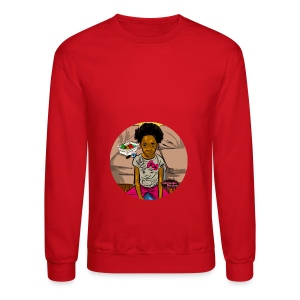 'FRO OUT RUFFLE TEE SHIRT - Crewneck Sweatshirt