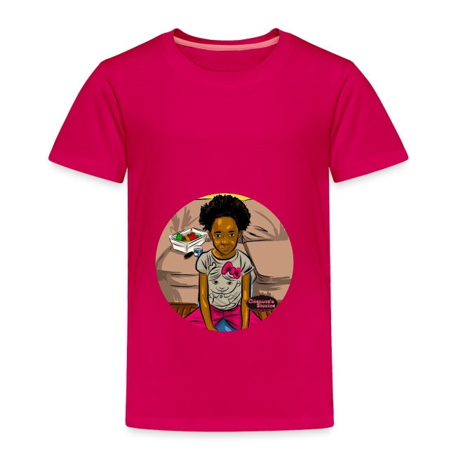 'FRO OUT RUFFLE TEE SHIRT