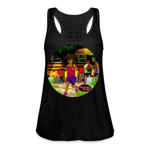 KIDS EASY TWIST TEE SHIRT  - Women's Flowy Tank Top by Bella