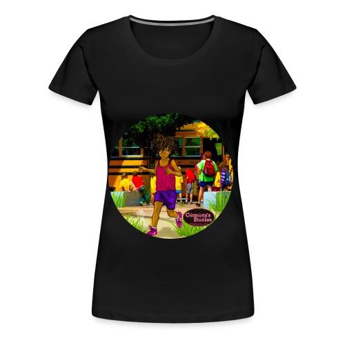 KIDS EASY TWIST TEE SHIRT  - Women's Premium T-Shirt