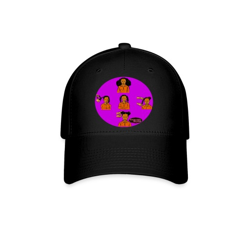 KIDS BRAIDED BUN TEE SHIRT - Baseball Cap