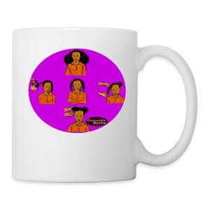 KIDS BRAIDED BUN TEE SHIRT - Coffee/Tea Mug