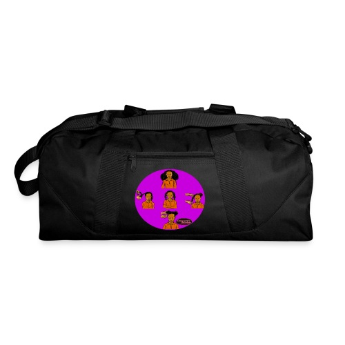 KIDS BRAIDED BUN TEE SHIRT - Duffel Bag