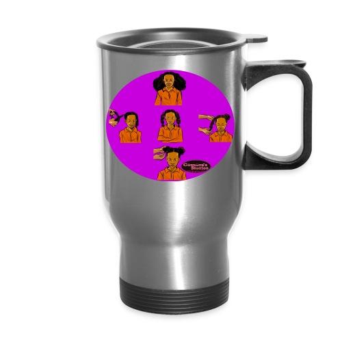 KIDS BRAIDED BUN TEE SHIRT - Travel Mug