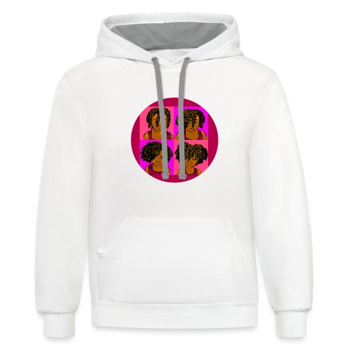KIDS 4 STAGES OF EASY TWIST - Contrast Hoodie