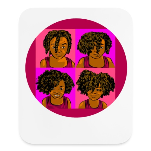KIDS 4 STAGES OF EASY TWIST - Mouse pad Vertical