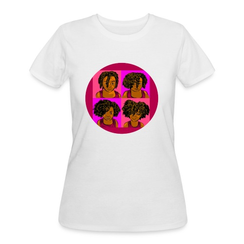 KIDS 4 STAGES OF EASY TWIST - Women's 50/50 T-Shirt