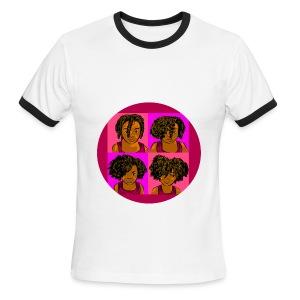 KIDS 4 STAGES OF EASY TWIST - Men's Ringer T-Shirt