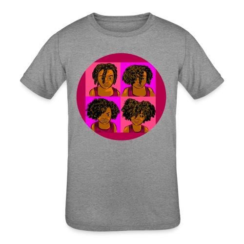 KIDS 4 STAGES OF EASY TWIST - Kid's Tri-Blend T-Shirt