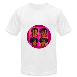 KIDS 4 STAGES OF EASY TWIST - Men's Fine Jersey T-Shirt