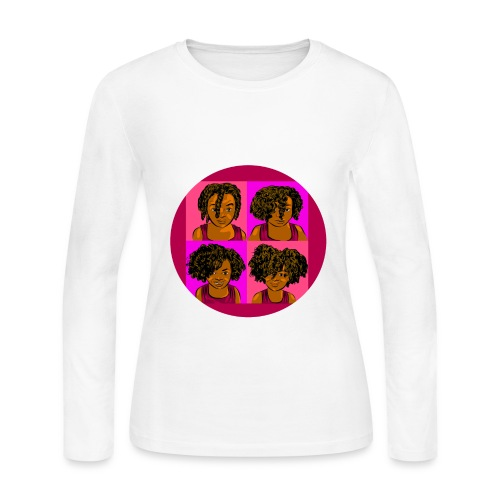 KIDS 4 STAGES OF EASY TWIST - Women's Long Sleeve Jersey T-Shirt