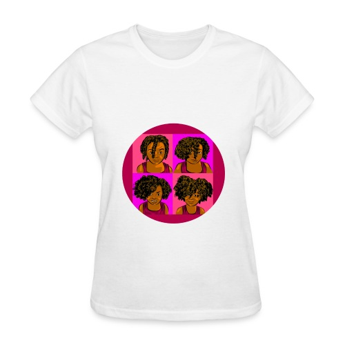 KIDS 4 STAGES OF EASY TWIST - Women's T-Shirt
