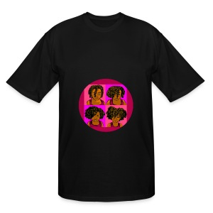 KIDS 4 STAGES OF EASY TWIST - Men's Tall T-Shirt