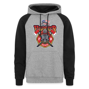 Volunteer firefighter - Colorblock Hoodie