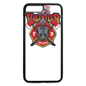 Volunteer firefighter - iPhone 7 Plus/8 Plus Rubber Case