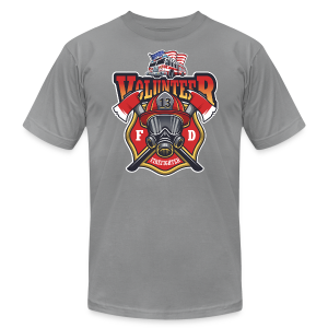 Volunteer firefighter - Men's T-Shirt by American Apparel