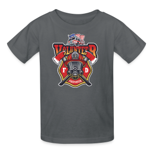 Volunteer firefighter - Kids' T-Shirt