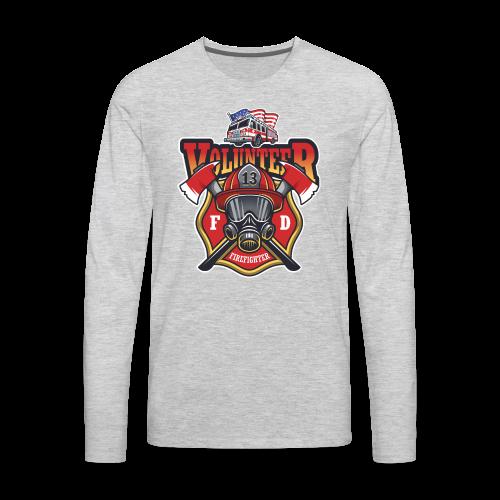 Volunteer firefighter - Men's Premium Long Sleeve T-Shirt