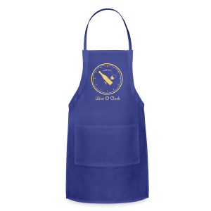 Wine O' Clock_cream - Adjustable Apron