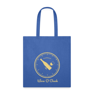 Wine O' Clock_cream - Tote Bag