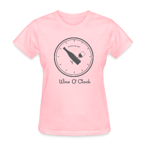 Wine O Clock - Women's T-Shirt