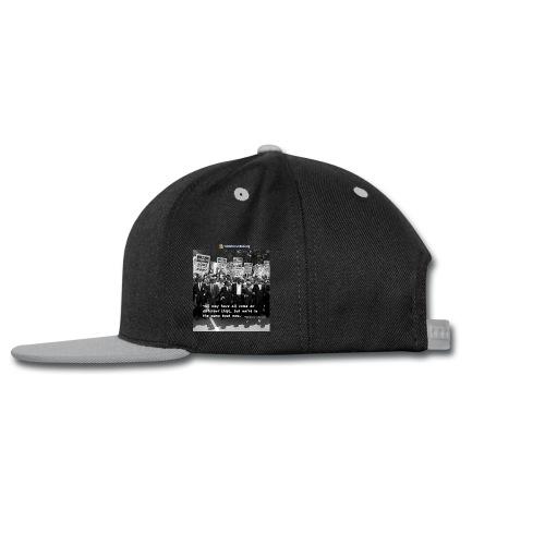 Martin Luther King Same Boat coffee mug - Snap-back Baseball Cap