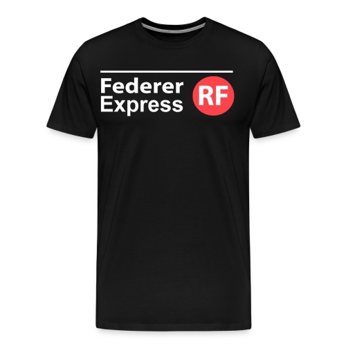 Federer Express - Men's Premium T-Shirt