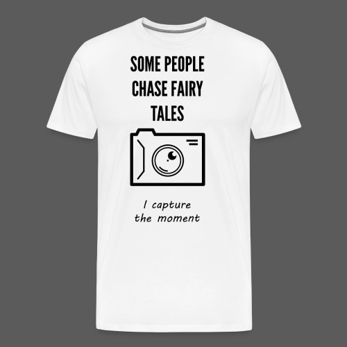 Capture The moment - Men's Premium T-Shirt