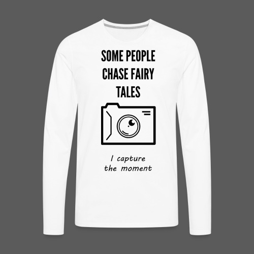 Capture The moment - Men's Premium Long Sleeve T-Shirt