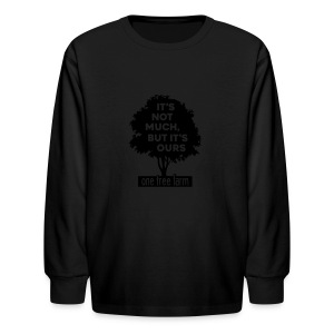 One Tree Farm American Apparel Tee - Kids' Long Sleeve T-Shirt