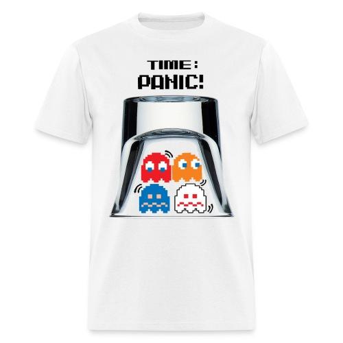 Panic Wht - Men's T-Shirt
