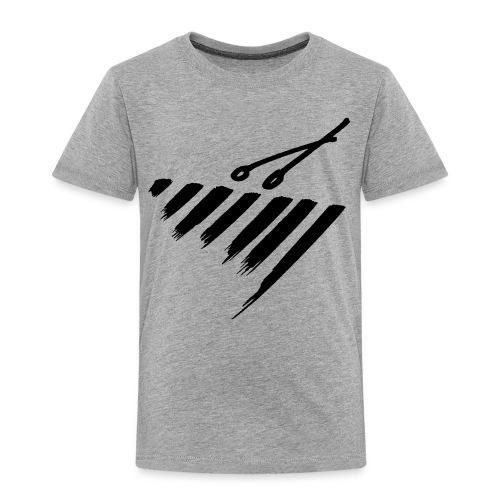 Marimba bars - Toddler Premium T-Shirt
