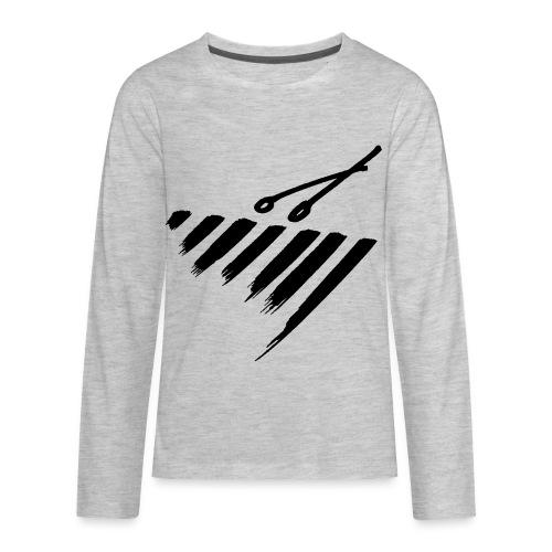 Marimba bars - Kids' Premium Long Sleeve T-Shirt