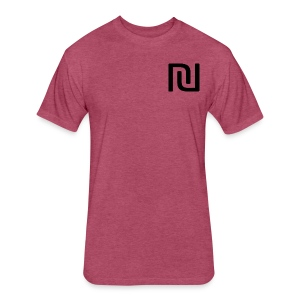 Hippie Shirt - Fitted Cotton/Poly T-Shirt by Next Level