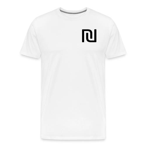 Wood On Wheels RInger T shirt - Men's Premium T-Shirt