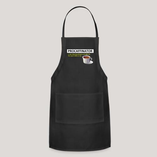 Procaffinator Cool Coffee T-Shirt - Adjustable Apron