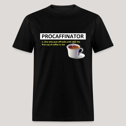 Procaffinator Cool Coffee T-Shirt - Men's T-Shirt