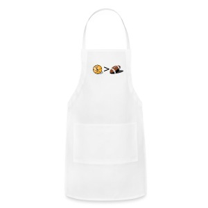 Basketball Greater Than Football (color ) - Adjustable Apron