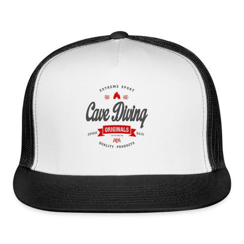 Cave Diving Extreme Sport T-shirt - Trucker Cap