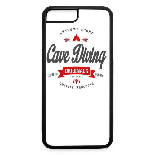Cave Diving Extreme Sport T-shirt - iPhone 7 Plus/8 Plus Rubber Case