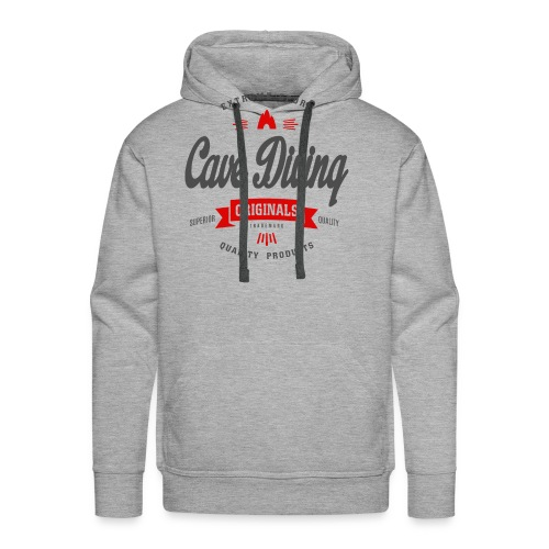 Cave Diving Extreme Sport T-shirt - Men's Premium Hoodie