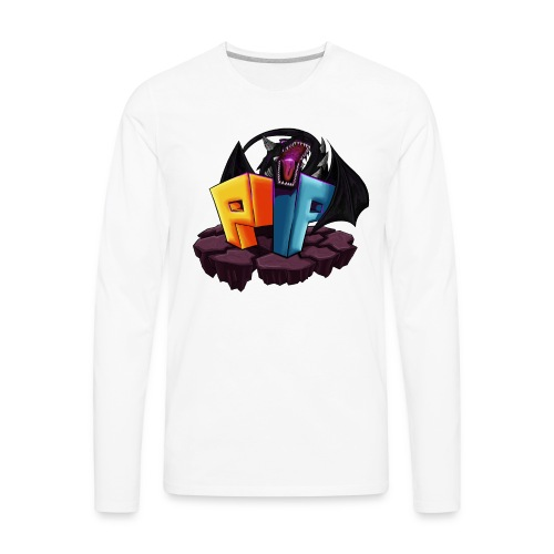 PocketPixels Dragon - Men's Premium Long Sleeve T-Shirt