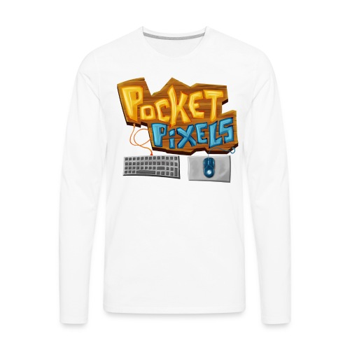 PocketPixels Essentials - Men's Premium Long Sleeve T-Shirt
