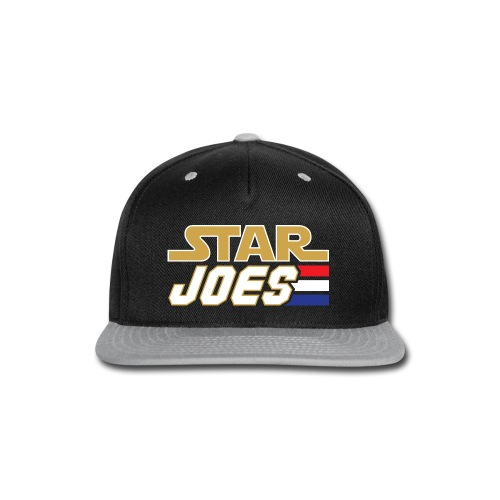 Star Joes Shirt Black - Snap-back Baseball Cap
